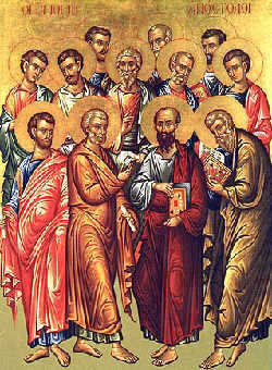 die 12 apostel des Christentums